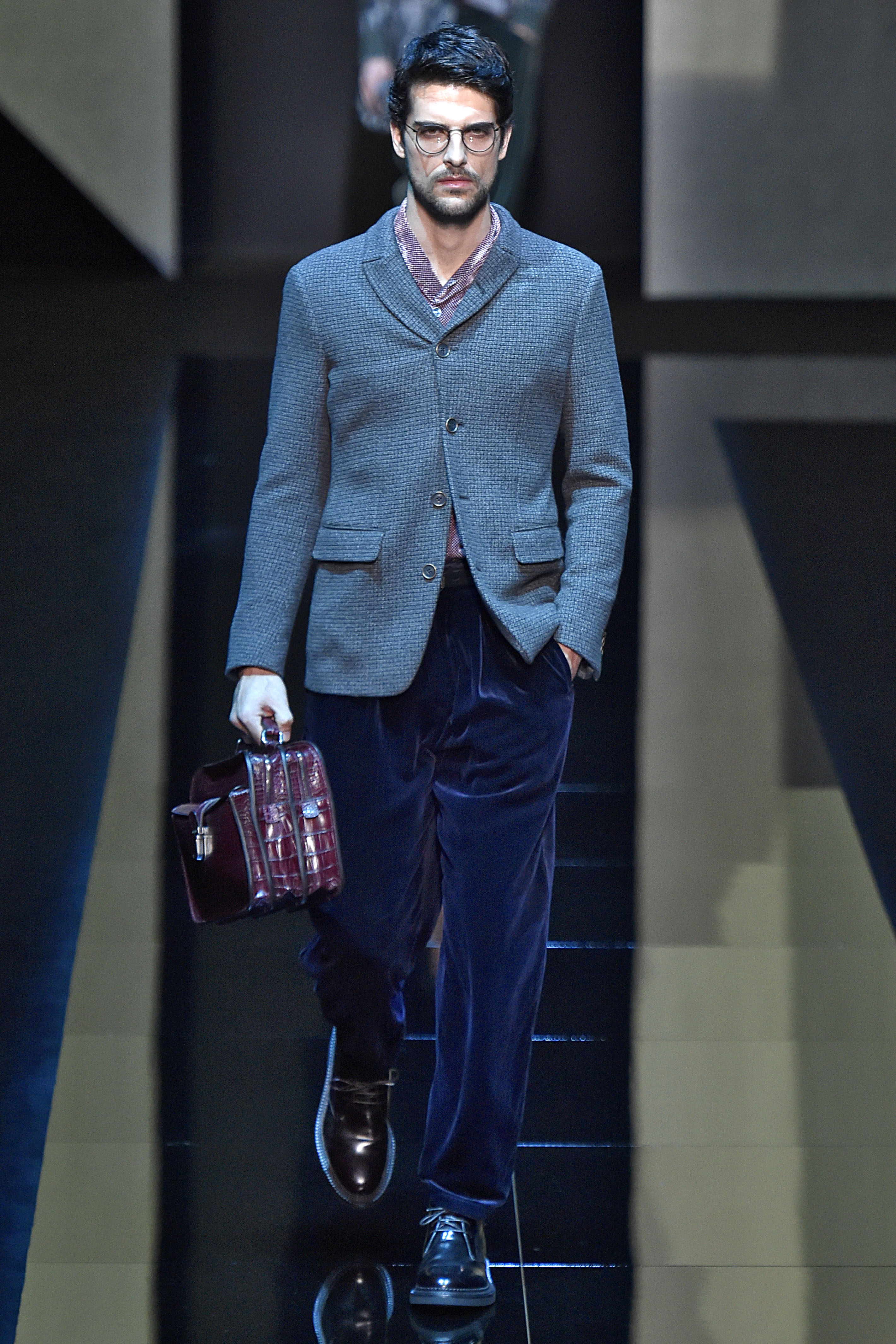 Giorgio Armani Milan Menswear Fall Winter 2017 - January 2017